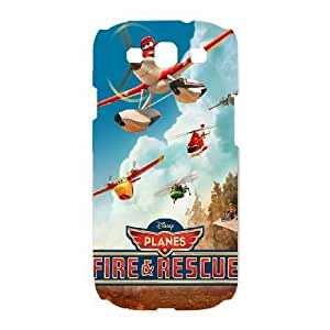 Samsung Galaxy S3 I9300 Phone Case Planes Fire Rescue Personalized Cover Cell Phone Cases BXD741622