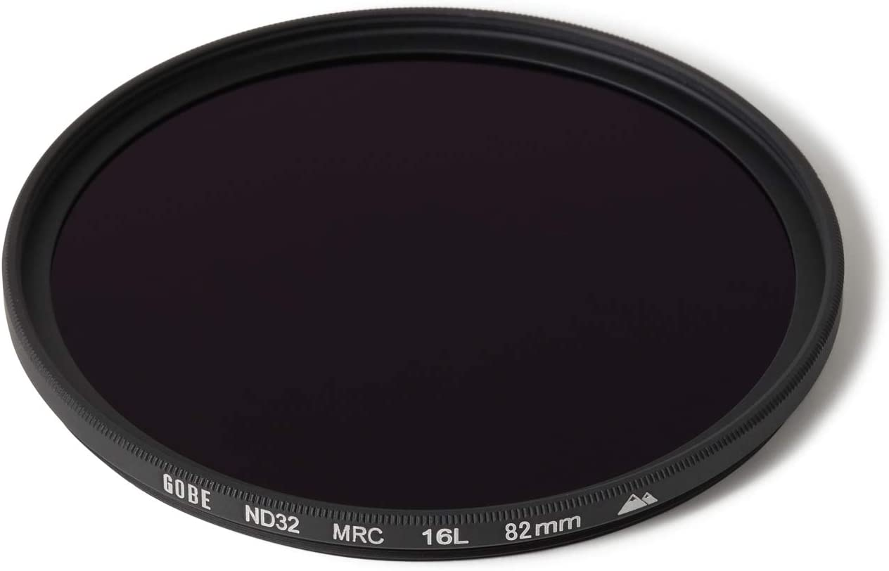 ND Lens Filter 5 Stop Gobe 55mm ND32 2Peak