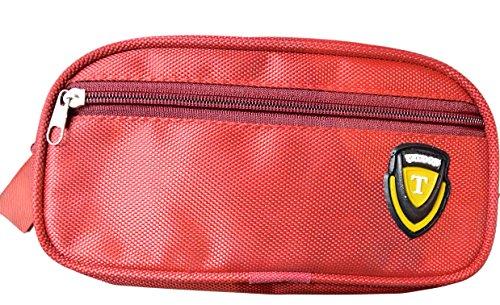 Student Stationery Leinwand Pen Federmäppchen Kosmetiktasche Make-up Tasche Box Tasche blau rot WsFzWd2