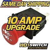 Kubota K1211-62230, K1211-62231 Clutch PTO Switch - Free 10 AMP Upgrade - HD Switch