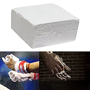 2 Ounce Block Chalk for Gymnastics, Climbing, and Weight Lifting