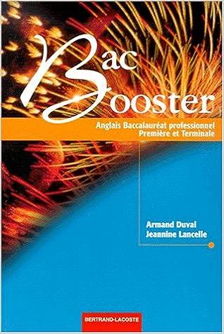 Livre gratuits Anglais 1ère et Terminale Bac pro Bac Booster epub, pdf