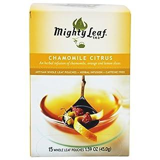 Mighty Leaf Tea 21316-3pack Mighty Leaf Tea Chamomile Citrus Blend Herbal Tea - 3x15 bag