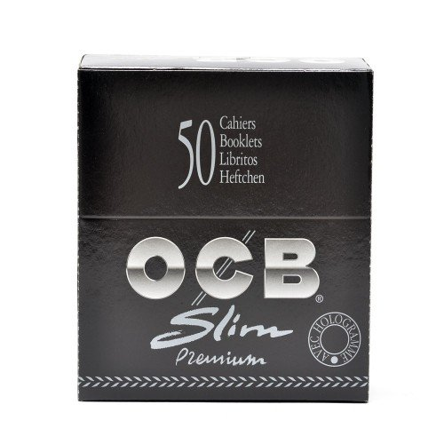 Ocb Rolling Papers Premium Slim King Size 32 Per Pack Unflavored Pack Of 50