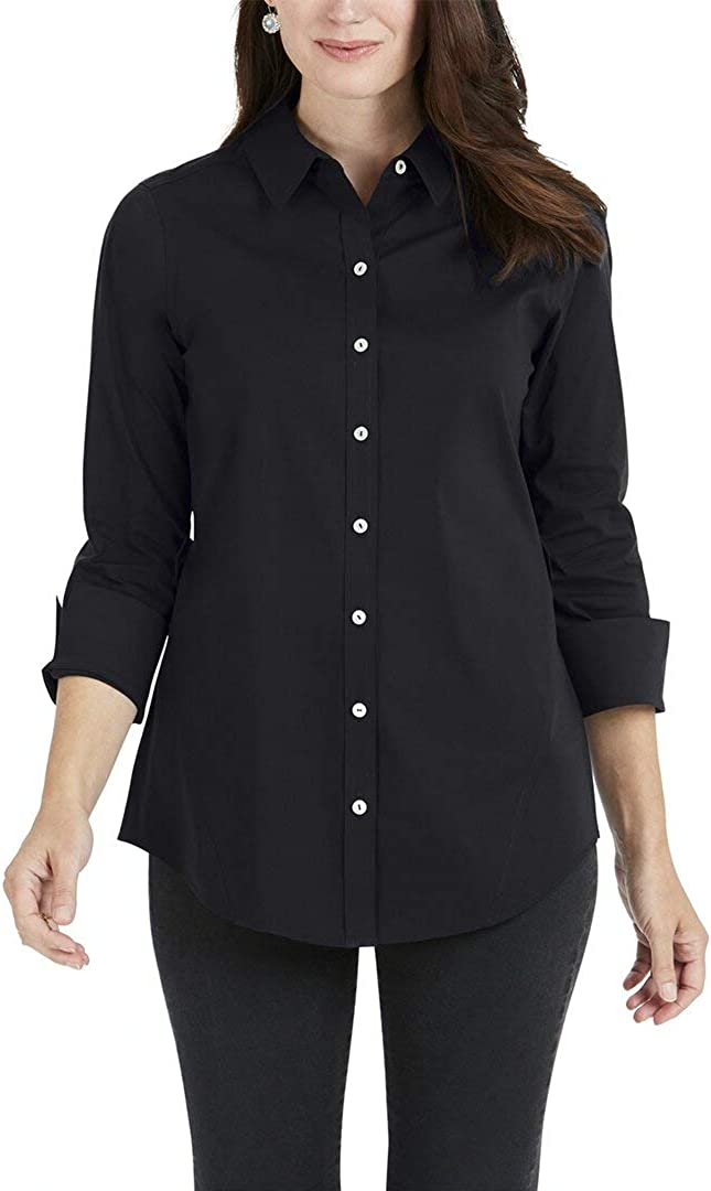 Foxcroft Women's Marianne Non Iron Stretch Tunic specialty shop New arrival