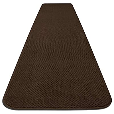 Skid-resistant Carpet Runner - Chocolate Brown - Many Other Sizes to Choose From