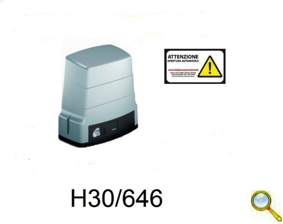 Motor para automatismos Puerta Corredera 600 kg con Marco H30/644 Roger: Amazon.es: Electrónica