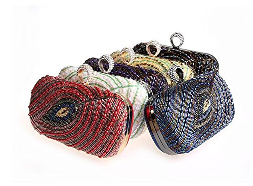 Bag Black Clutch Women Purse Clutch Shoulder Classic Evening Bag Handbag Envelope Pleated PAZA0nq