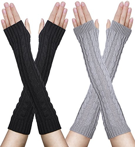 Oryer Womens Winter Fingerless Gloves product image