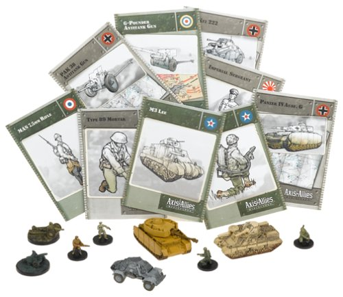 Axis & Allies CMG Booster Base Set (Allies Axis Miniatures And)