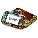 Donkey Kong Country Returns Decorative Decal Cover Skin for Nintendo Wii U Console and GamePad
