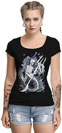 YyiHan Cosplay Disfraz, Manga Corta de la Camiseta Media de la Espalda Que Basa la Camisa