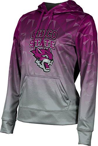 Prosphere California State University Chico Womens Hoodie Sweatshirt   Maya
