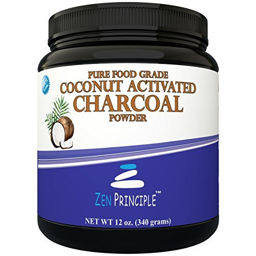 - LARGE 12 Oz. Coconut Activated Charcoal Powder. Whitens Teeth, Rejuvenates Skin and Hair, Detox and helps Digestion. Treats Accidental Poisoning, Bug Bites and Wounds. USA-Owned Producers, FREE scoop