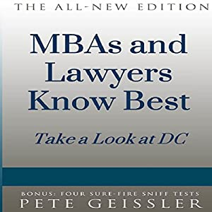 MBAs and Lawyers Know Best Audiobook