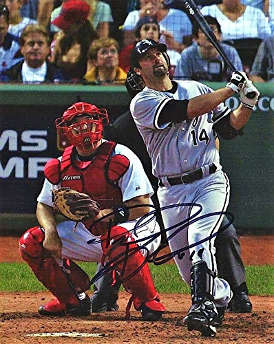 Paul Konerko Signed - Autographed Chicago White Sox 8x10 inch Photo - 2005 World Series Champion - Guaranteed to pass PSA or (Paul Konerko Hand Signed)