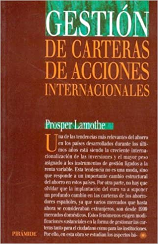Gestion de carteras de acciones internacionales Economia Y Gestion Internacional: Amazon.es: Prosper Lamothe: Libros