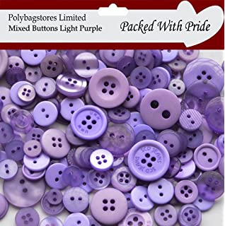 PLASTIC BUTTONS ASSORTED BUTTONS BLACK /& WHITE MIXED BUTTONS PACK OF 100G