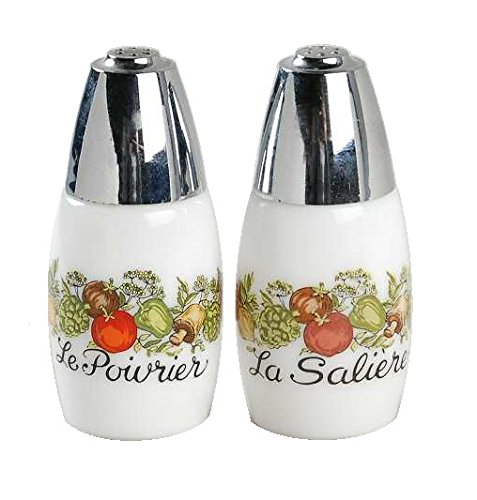 Corning Ware Spice of Life Salt & Pepper Shaker Set ( Set of 2 ()
