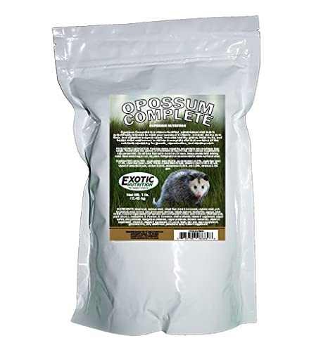 Exotic Nutrition Opossum Complete - Healthy Food for Opossums
