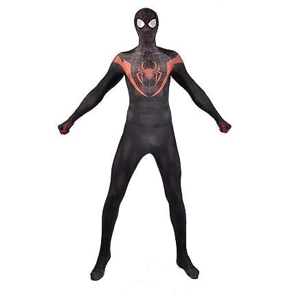 Fting Traje del Hombre araña for Adultos Traje de Halloween ...