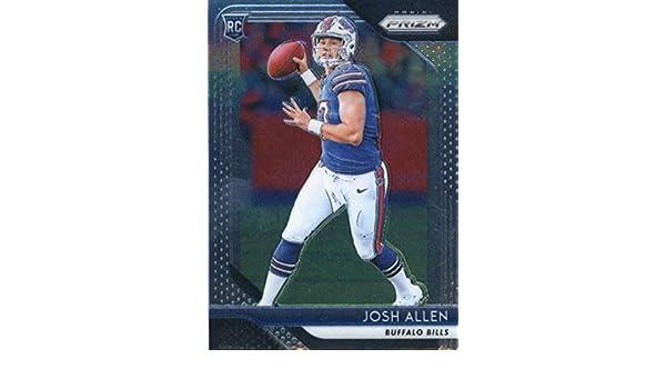 Amazon.com  2018 Panini Prizm  205 Josh Allen Buffalo Bills Rookie Football  Card  Collectibles   Fine Art 042210d2f
