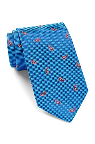 Robert Talbott Men's Best of Class Silk Paisley Tie (Blue) by Robert Talbott
