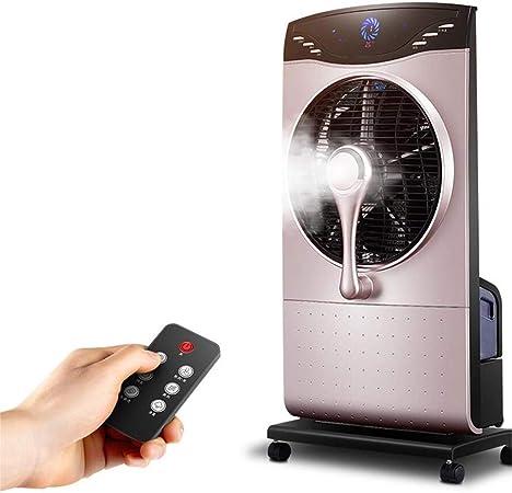 Acondicionador De Aire Portable Que Se Refresca/Ventilador Con Teledirigido En Ventilador Oscilante Portable Del Ventilador De La Blanco-Torre: Amazon.es: Hogar