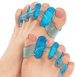 ToePal: Gel Toe Separator & Toe Stretcher for Yoga, Walking and Dancing. Instant