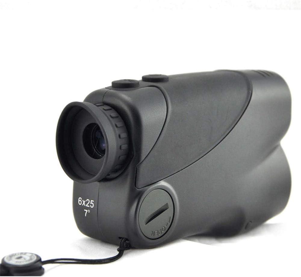 MCJL 800 m láser de Mano telémetro, 6X25 con Foco Externo LCD Ajustable, Golfing