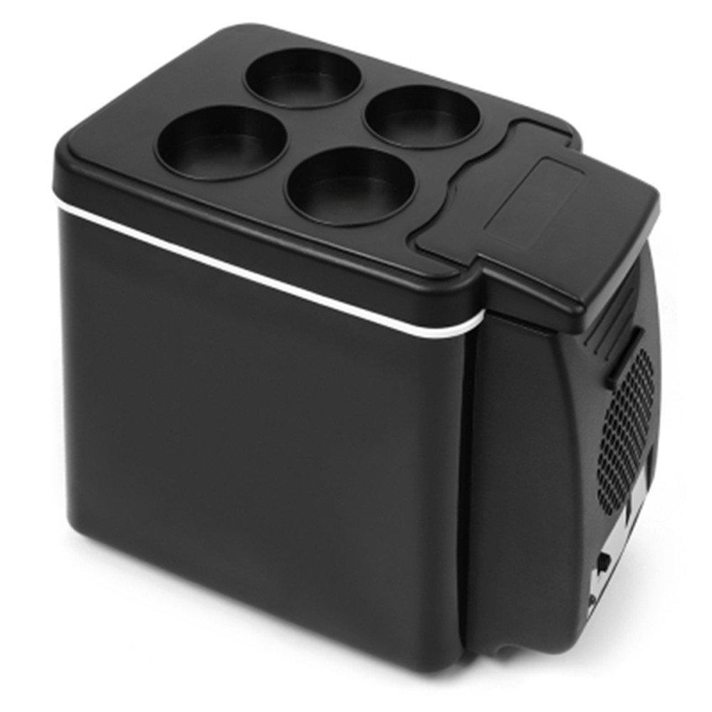 Mini Portable Fridge, Anytec 6L Dual Use Car Refrigerator for Travel Camping - DC 12V 45W