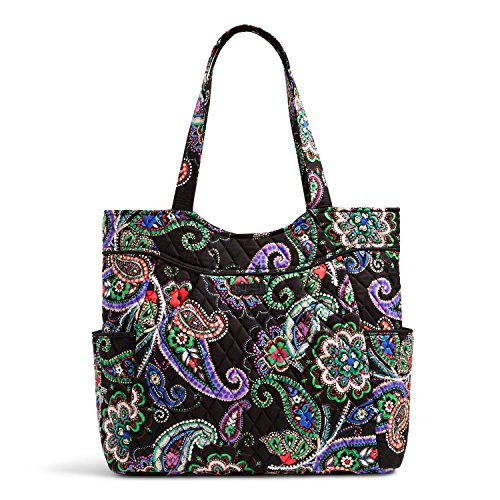 Vera Bradley Pleated Tote in Kiev Paisley