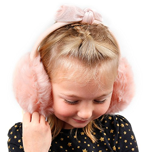 Amazon.com: Pink Fluffy Earmuffs Winter Headphones with 3.5mm Connector for Doogee TURBO-mini F1|VALENCIA DG800|Valencia2 Y100 Pro|Valencia2 Y100|Voyager2 ...