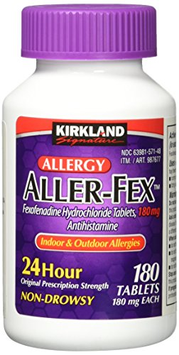ller-Fex , 180 mg 180 Tablets (Costco Wholesale)