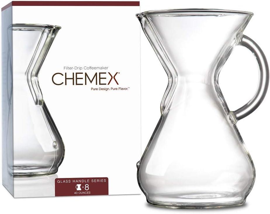 Chemex - Cafetera, transparente, 8-Cup: Amazon.es: Hogar