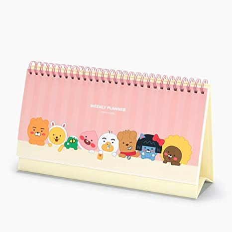 Amazon.com: 2019 Kakao Friends - Calendario de escritorio ...