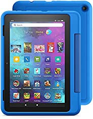 """Introducing Fire HD 8 Kids Pro tablet, 8"""" HD, ages 6–12, 32 GB, Sky"""