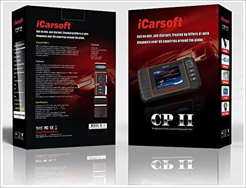 Icarsoft Cpii Citroen Peugeot Smart Diagnostic Scanner Tool Srs Abs Bremse Motor Reset Ebp Sas Auto