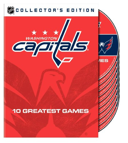 Nhl Collectors - NHL Washington Capitals 10 Greatest Games