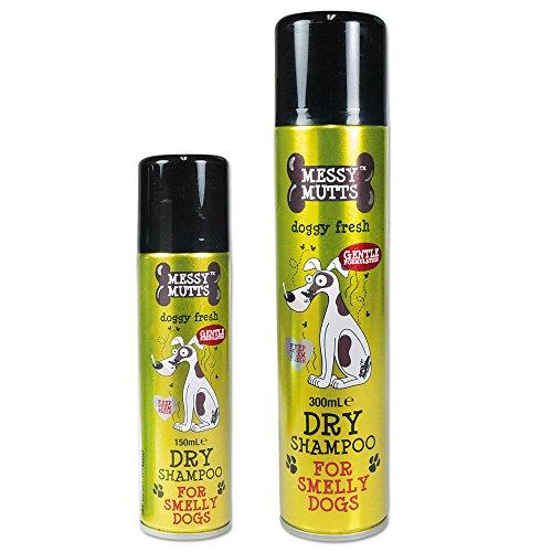 MM Trockenshampoo für Hunde 300ml edle Blumenfrische ideal für die schnelle Wäsche zwischendurch Der Hund ist wieder wunderbar frisch sauber und gepflegt aus und riecht wunderbar frisch