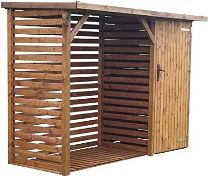 CADEMA Caseta de madera con espacio para contenedores o aparatos ...