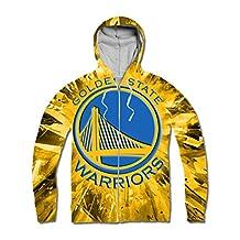 Custom Women's Golden State Warriors Stephen Curry Zipper Hoodie
