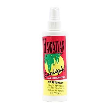 Amazon Com Hawaiian Sunlight Hair Lightener 8 Oz Hair
