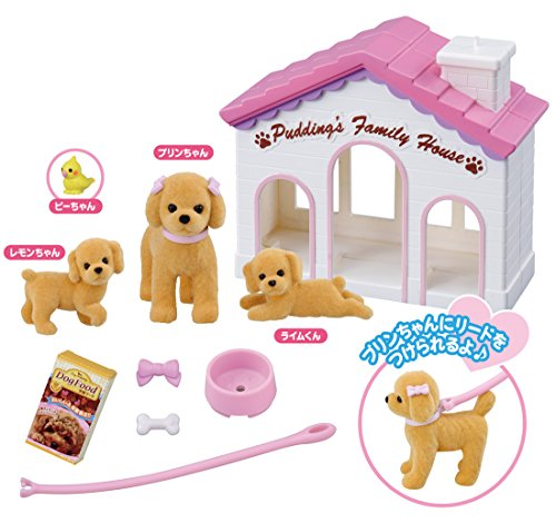 Licca-chan LG-04 Pet Doggy Prin-chan Pudding Family House set