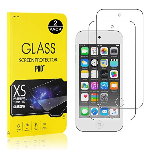 iPod Touch 5th / 6th Screen Protector Film, UNEXTATI Tempered Glass Screen Protector, HD Clear Screen Protector for iPod Touch 5th / 6th (2 - Ipod Film