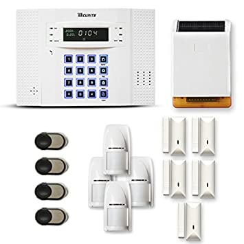 alarme maison sans fil gsm / 4-5 pieces + sirene exterieure
