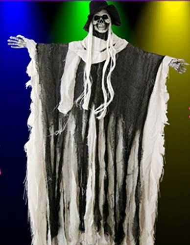 haunted halloween supplies bar decoration props tune big hang hanging ghost ghost terror prisoners hanged style