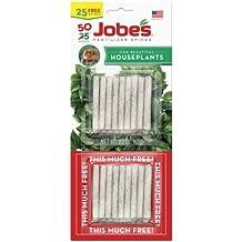 Jobe's 5001T Houseplant Indoor Fertilizer Food Spikes, 50 Pack