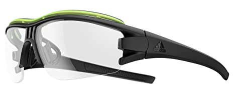 recognized brands wholesale sales sleek adidas Brille Evil Eye halfrim pro ad07-9300 Black matt Glow ...