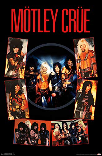Trends International Motley Crue - Shout at The Devil Wall Poster, 22.375